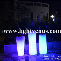 led flower pot - Light venus
