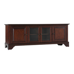 "Crosley - LaFayette 60"" Low Profile TV Stand - Dimensions:  18 x 59.8 x 21 inches"
