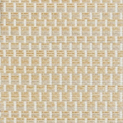 MELANIE - SAND - Item #1010747-281. 100% Acrylic. Indoor/Outdoor. Durability: 12,000  Martindale Cycles. Made in FRANCE.
