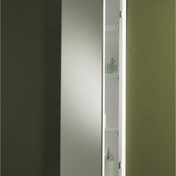 Broan-NuTone - NuTone Bel Aire 13W x 36H in. Recessed Medicine Cabinet - 625 - Shop for Bathroom Cabinets from Hayneedle.com! The NuTone Bel Aire Medicine Cabinet is sleek and spacious and offers plenty of room for storage. A stainless steel trim adorns the tops and bottoms of the doors which open to reveal three adjustable shelves. Doors use piano hinges allowing them to open wider than normal for easier access.About Broan-NuToneBroan-NuTone has been leading the industry since 1932 in producing innovative ventilation products and built-in convenience products all backed by superior customer service. Today they're headquartered in Hartford Wisconsin employing more than 3200 people in eight countries. They've become North America's largest producer of medicine cabinets ironing centers door chimes and they're the industry leader for range hoods bath and ventilation fans and heater/fan/light combination units. They are proud that more than 80 percent of their products sold in the United States are designed and manufactured in the U.S. with U.S. and imported parts. Broan-NuTone is dedicated to providing revolutionary products to improve the indoor environment of your home in ways that also help preserve the outdoor environment.