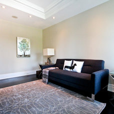 Contemporary Family Room by Avenue Casa Home Staging