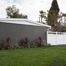 Midcentury Exterior by Carley Montgomery