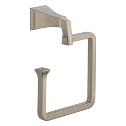 Delta 75146-SS Dryden Towel Ring in Stainless