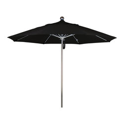 California Umbrella - 9 Foot Sunbrella Fabric Stainless Steel Single Piece Pole Market Umbrella - California Umbrella, Inc. has been producing high quality patio umbrellas and frames for over 50-years. The California Umbrella trademark is immediately recognized for its standard in engineering and innovation among all brands in the United States. As a leader in the industry, they strive to provide you with products and service that will satisfy even the most demanding consumers.