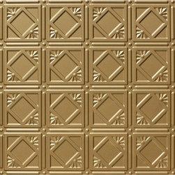 Decorative Ceiling Tiles - Faux Tin Wall & Ceiling Panel - 24x48 - #DCT 0207 - Find copper, tin, aluminum and more styles of real metal ceiling tiles at affordable prices . We carry a huge selection and are always adding new style to our inventory.