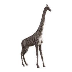 Cyan Design - Cyan Design Large Giraffe Sculpture in Bronze - Large Giraffe Sculpture in Bronze