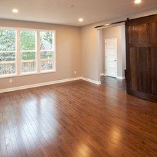 Contemporary Family Room by Ridge Creek Custom Homes