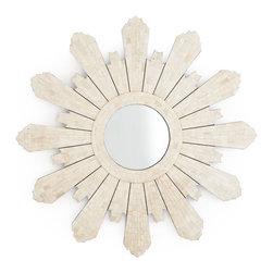 Modern Padrone Sunburst Mirror | Mirrors | Wisteria - Delicate starburst.