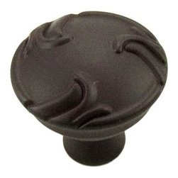 RK International CK 155-RB Cabinet Knob - Nottingham Series - Swirl Edges - Oil - This oil rubbed bronze finish cabinet knob with swirl edges design is part of the Nottingham Series Cabinet Hardware Collection and features a perfect blend of craftmanship in traditional and contemporary design to complement any decor.