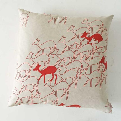 Modern Decorative Pillows by Skinny laMinx