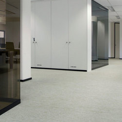 Modern Synthetic Floorcoverings - Bolon's synthetic tweeds (BKB) are great for bathrooms, kitchens, and hallways. This floorcovering is also an excellent environmental choice as it contains Bolon's groundbreaking renewable, phthalate-free plasticiser which is based on a completely renewable plasticizer made from Soy Bean Oil.