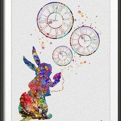 KidsPlayHome - Alice In Wonderland Wall Art - Playroom Art Print
