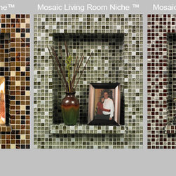 Mosaic Niche Kit - This ready-to-go kit creates the perfect little niche to put anything. It comes with everything you need, and is available in a variety of colorways.