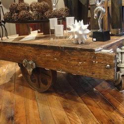 "accent furniture - Authentic Fairbanks cart.  original parts and condition, 58""L x 30""D x 17""H"
