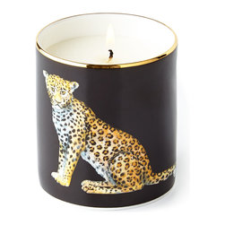 """Halcyon Days Enamels - Leopard Filled Candle - Halcyon Days EnamelsLeopard Filled CandleDetailsBone china container.Hand painted and hand gilded.Soy wax candle.Jasmine scent.Presented in a Halcyon Days archive-print gift box.3""""Dia. x 3""""T.Made in England.Designer About Halcyon Days Enamels:The Halcyon Days shop opened in London's Mayfair in 1950 and its Halcyon Days Enamels debuted 20 years later singlehandedly reviving the nearly lost English art of enameling on copper. Halcyon Days Enamels keepsake boxes featuring hand enameling and hand painting are prized by collectors worldwide as modern heirlooms."""