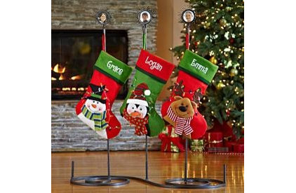 Contemporary Christmas Stockings And Holders by Personal Creations
