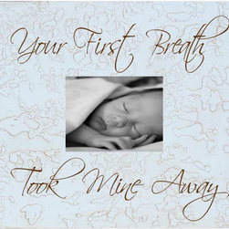 RR - Your First Breath 4 x 6 Tabletop Picture Frame - Your First Breath 4 x 6 Tabletop Picture Frame