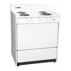 """Brown - 30"""" Electric Range, ADA compliant, Elderly Model with Indicator and oven light - Features:"""