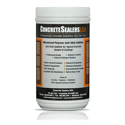 Concrete Sealers USA - Micronized Polymer Anti-Skid Additive (32 oz.) - Anti-Skid Additive for Topical Concrete Sealers & Coatings