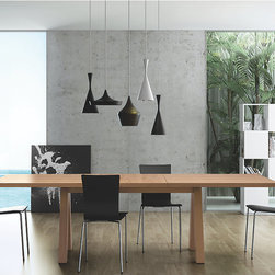 Dining Rooms | Smart Furniture - Contemporary yet simple, the Apex Dining Table still has a casual-chic look.