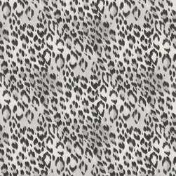"""Ballard Designs - Cheetah Gray Fabric By The Yard - Content: 89% cotton and 11% linen. Repeat: Non-railroaded fabric with 13 1/2"""" repeat. Care: Dry clean. Width: 54"""" wide. Charcoal and light gray cheetah printed on supple, off-white cotton/linen blend. Made in the USA.  .  .  .  . Because fabrics are available in whole-yard increments only, please round your yardage up to the next whole number if your project calls for fractions of a yard. To order fabric for Ballard Customer's-Own-Material (COM) items, please refer to the order instructions provided for each product.Ballard offers free fabric swatches: $5.95 Shipping and Processing, ten swatch maximum. Sorry, cut fabric is non-returnable."""