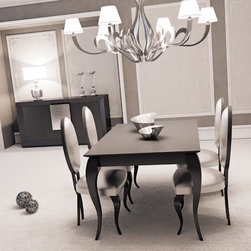 Franco Furniture - Macral Design Composition Nº 3. Dining room.. - Dining Set.Composition Nº 3. The set includes: dining table + 4 chairs + sideboard / buffet + cabinet: $8,912.