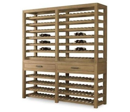 contemporary wine racks by Mecox Gardens