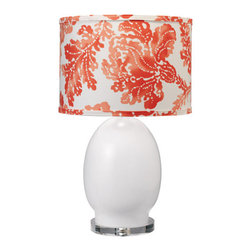 Jamie Young Lighting Lamp Base Small White Egg - The Jamie Young egg lamp is a classic that I cannot live without! I have this in my home and love it.