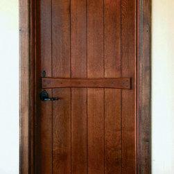 English Board & Batten Door -