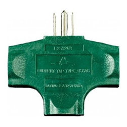 Seasonal Source - Heavy Duty Three Outlet Splitter - These heavy duty grounded 15-amp splitters are essential for dividing up power.