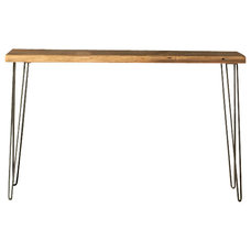 Industrial Console Tables by UrbanWood Goods