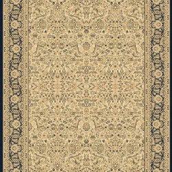 "Dynamic Rugs - Dynamic Rugs Rug, Ivory, 7' 10"" x10' 10"" - The Legacy Collection by Dynamic Rugs features persian styled rugs with 800,000 points with traditional colors."