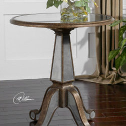 "24236 Eraman, Accent Table by uttermost - Get 10% discount on your first order. Coupon code: ""houzz"". Order today."