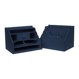 Trade Winds - New Trade Winds Buffet Blue Painted Hardwood - Product Details