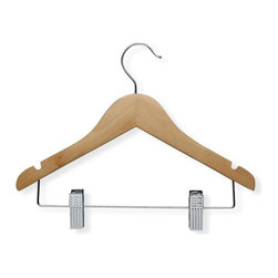 Honey Can Do International LLC - Honey Can Do Kids Basic Hangers with Clips - Set of 10 Multicolor - HNGT01225 - Shop for Clothing Hangers from Hayneedle.com! About Honey-Can-DoHeadquartered in Chicago Honey-Can-Do is dedicated to helping you organize your life. They understand that you need storage solutions that are stylish and affordable at the same time. Honey-Can-Do focuses on current design trends and colors to create products that fit your decor tastes while simultaneously concentrating on exceptional quality. When buying a Honey-Can-Do product you can be sure you are purchasing a piece that has met safety control standards and social compliance methods.