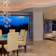 Contemporary Dining Room by Connie Anderson Photography