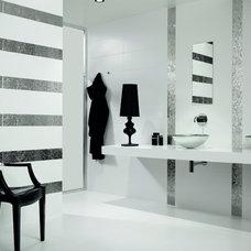"Contemporary Tile Cosmopolitan Blanco Mate by Dune - 10x30"" matte ceramic wall tile"