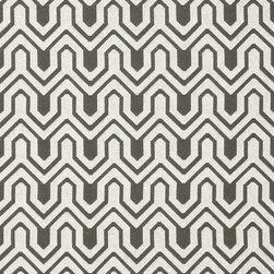 Resort Collection - Flat Shots - Montserrat woven fabric in Charcoal (W77992) from Thibaut's Resort Collection