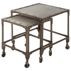 Industrial Side Tables And End Tables by C.G. Sparks