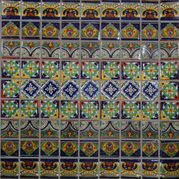 Mexican Tile in Mosaics - If you like a more Mediterranean or Spanish look, add some mosaic tiles to your stairs. They are easy to install, and I think they would make the perfect weekend DIY project.
