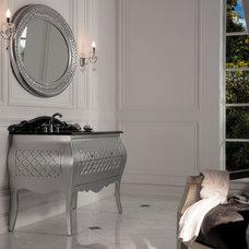 Transitional Bathroom Vanities And Sink Consoles by Designer's Plumbing Studio