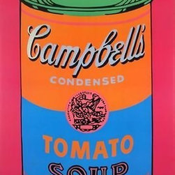 Official Authorized Campbell's Soup Can Artwork by Andy Warhol - ORIGINAL FAB ANDY WARHOL OFFICIAL LIMITED EDITION TOMATO SOUP!, This is a wonderful exciting SPECIAL EDITION LARGE OVERSIZE rare Lithograph Print Created by Artist Andy Warhol. It is the authorized edition of one of his most Iconic and lasting images! Features bright, bold rich color tones in this print, excellent!Made of the very Finest Archival Museum quality Paper and in excellent NEW MINT CONDITION is Highly desirable for collectors. Approved and Authorized by the Andy Warhol Foundation. This is a very large Print reproduction, perfect for any elegant home, office, restaurant or place of business.