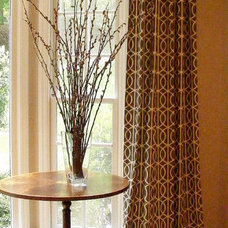 Traditional Window Treatments by DeCocco Drapes