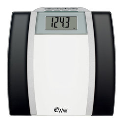 Conair - Weight Watchers� by Conair Glass Body Analysis Scale - For a scale that goes beyond the ordinary weighing function, try this handsome device. Not only does it check your weight, it also monitors body fat, body water, BMI and bone mass. A sleek bathroom addition for the workout junkie.