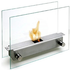 Modern Tabletop Fireplaces by Ameico