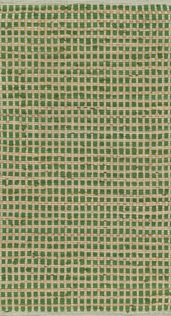 "Loloi Rugs - Loloi Rugs Porto Collection - Green, 1'-8"" x 3' - Casual yet sophisticated pops of color combined with natural jute are entwined into a grid-like pattern in Porto. These handwoven rugs from India are infused with cotton for softness underfoot.  The clean yet intricate pattern will add just the right layers of texture and pattern without competing with the rest of your room's interior."