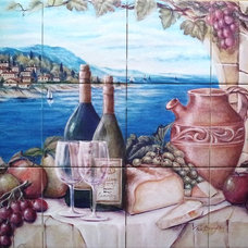 Mediterranean Tile by The Tile Mural Store (Canada)