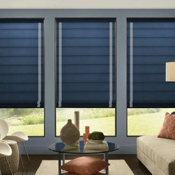 Custom Printed Roller Shades - Printing colors!