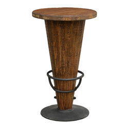 Kosas Collections - Bentong Pub Table - This beautiful pine wood pub table will add a bit of rustic charm to your home's decor. Featuring unique table legs,this lovely table brings more character to your space and stands a perfect 41 inches high.