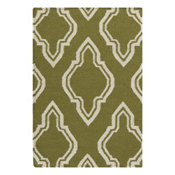 Surya - Hand Woven Fallon Wool Rug FAL-1048 - 2' x 3' - From delicate lattice patterns to boldly colored chevron patterns the Fallon Collection makes a statement in flat weave; from creator Jill Rosenwald known for her beautifully colored, hand-made ceramics. The Fallon Collection's patterns and the hand woven flat weave construction beautifully combine to highlight its simplicity and sophistication. Fresh and fun patterned rugs with a strong designer color palettes.